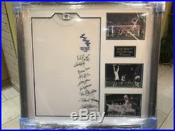Leeds United Signed 1972 Fa Cup Shirt Framed And With Photographs