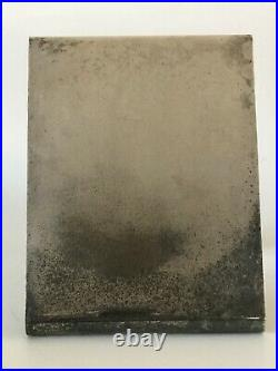 Lino Sabattini Silver Plated Modern Picture Frame -signed- Italian Vintage Rare