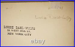 Louise Dahl-Wolfe, Christian Dior At His Millhouse Vintage Photograph Signed