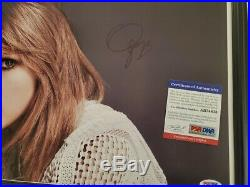 Lover Taylor Swift signed Photo PSA DNA (Framed)