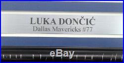Luka Doncic Autographed Signed Framed 16x20 Photo Mavericks Fanatics Holo 162397