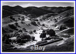 MORLEY BAER Signed 1972 Original Photograph Trescony Ranch, San Lucas