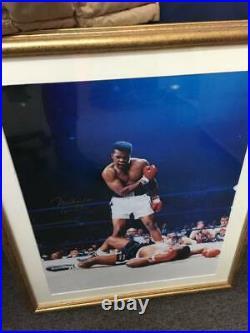MUHAMMAD ALI signed'Muhammad Ali AKA Cassius Clay' Autographed Framed Photo