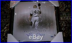 Mariano Rivera Signed Framed All Star Game 14x14 Photo Steiner COA NY Yankees