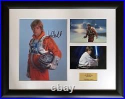 Mark Hamill / Star Wars / Signed Photo / Autograph / Framed / COA