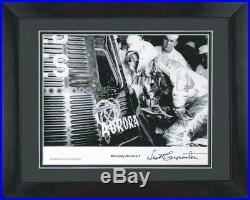 Mercury Aurora 7 Space Capsule Framed Photo Signed Astronaut Scott Carpenter Coa