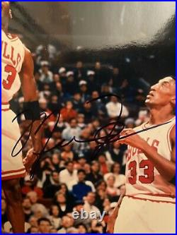 Michael Jordan Signed 8x10 Photo Auto Card Framed COA