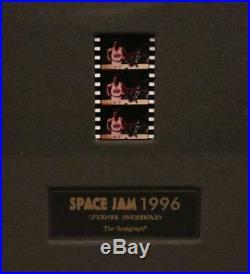 Michael Jordan Signed Autographed Framed Space Jam Animation Upper Deck UDA