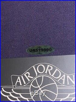 Michael Jordan Signed Poster UDA Beautifully Custom Framed & Matted Auto