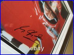 Michael Schumacher Formula F1 signed photo framed World Champion Grand Prix UACC
