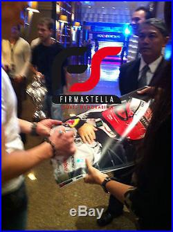 Michael Schumacher + Sebastian Vettel Signed Huge 30x20 Framed Photo+photo Proof