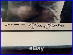 Mickey Mantle / Neil Leifer Signed Limited Edition Upper Deck UDA Framed Photo