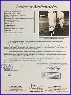 Mickey Mantle Ted Williams Signed 16x20 Photo UDA Upper Deck JSA LOA Framed