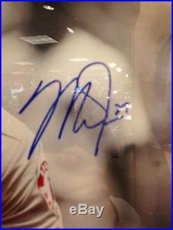 Mike Trout Angels Signed 16x20 Photo Framed Best Authentics