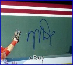Mike Trout Autographed Signed Framed 16x20 Photo Los Angeles Angels Mlb 146657