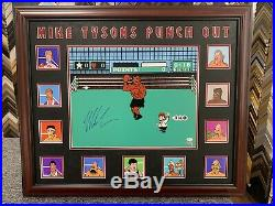 Mike Tyson 16x20 Signed Jsa Auto Custom Framed Punch Out