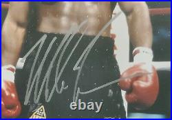 Mike Tyson Authentic Autographed Signed Framed 11x14 Photo Beckett 191199