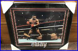 Mike Tyson Autographed Signed And Framed 16x20 Photo JSA AUTH
