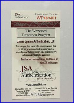 Mike Tyson Signed 16x20 Photo Framed Mint Autograph JSA COA