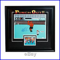 Mike Tyson Signed Autographed NES Punch-Out 16x20 Framed JSA AUTHENTIC