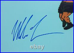 Mike Tyson signed 16x20 Nintendo Punch-Out game photo framed auto JSA COA