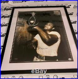 Muhammad Ali Framed Matted Signed Autographed 16x20 Photograph Steiner Oa Coa