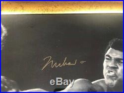 Muhammad Ali V George Foreman Boxing Signed By Both, Photo In Frame