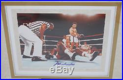 Muhammad Ali signed autographed framed 8x10 photo! Guaranteed Authentic