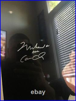 Muhammad ali framed signed Picture