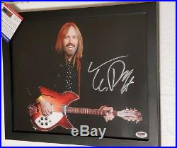Music Legend Tom Petty signed 11x14 Photo PSA DNA (Framed) the Heartbreakers
