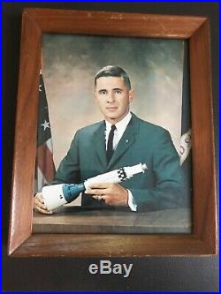 NASA Astronaut William Bill Anders, Autographed / Signed Photo, Rare, Framed