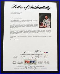 NEIL ARMSTRONG PSA/DNA SIGNED & Framed 8x10 Autographed Photo, Apollo 11