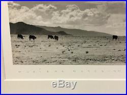 NICHOLAS TROFIMUK 20th c. American GELATIN SILVER PRINT Photograph GALISTEO NM