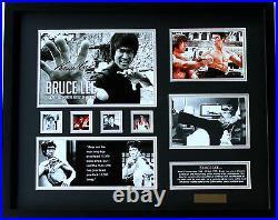 New Bruce Lee Signed Limited Edition Memorabilia Framed