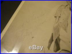 PATSY CLINE SIGNED 2x 8x10 PHOTO FRAMED PSA/DNA LOA AUTOGRAPH I FALL TO PIECES