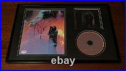 POST MALONE SIGNED 8x10 PHOTO FRAMED HOLLYWOODS BLEEDING ALBUM AUTOGRAPH JSA COA