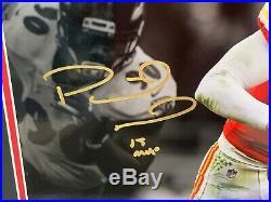 Patrick Mahomes Kansas City Chiefs FRAMED Signed/Autographed 16x20 Photo COA #3