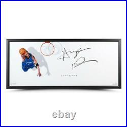 Penny Hardaway Signed Auto 20X46 Framed Photo The Show Triple Threat Magic UDA