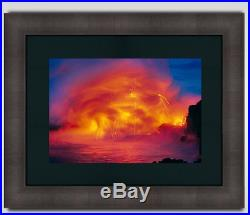 Peter Lik Ocean Fire, Framed, Signed 70 cm LTD ED's