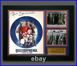 Phil Daniels Hand Signed Quadrophenia 12x16 Photo In A Frame Presentation D