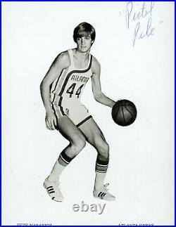Pistol Pete Maravich Autographed Signed Framed 8x10 Photo Hawks JSA #Y33319
