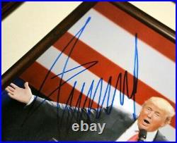 President DONALD TRUMP Signed Autograph, COA UACC PSA/DNA Guaranteed, FRAME, HAT
