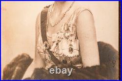 Princess Alice Antique Royal Presentation Frame Signed Autograph Photo1947