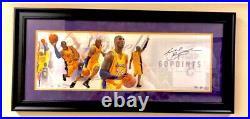 RARE Kobe Bryant Signed Final Game LE 1/24 Framed Panini UDA Lakers Mamba Wow