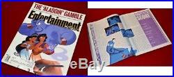 ROBIN WILLIAMS Signed AUTOGRAPH ALADDIN Genie PHOTO, Frame, COA UACC, DVD, Mag