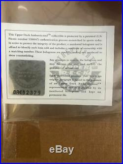 Rare Wilt Chamberlain Autographed Signed Framed 16x20 Upper Deck Uda Holo & Coa