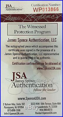 Rob Gronkowski signed 11x14 photo framed Patriots Coin autograph JSA COA SCREAM