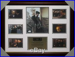 Robert De Niro Godfather 2 Hand Signed Framed Photo Collage Jsa Spence #f44102