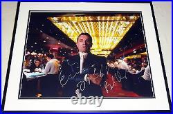 Robert Deniro Casino Hand Signed Autographed Custom Framed16x20 Photo! Rare! Coa