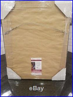 Robert Redford signed 8x10 As Roy Hobbs In The Natural JSA Custom Framed
